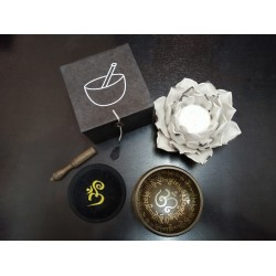 Set Cuenco Tibetano Om...